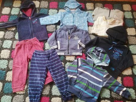 Ubranka dla chłopca rozmiar 92