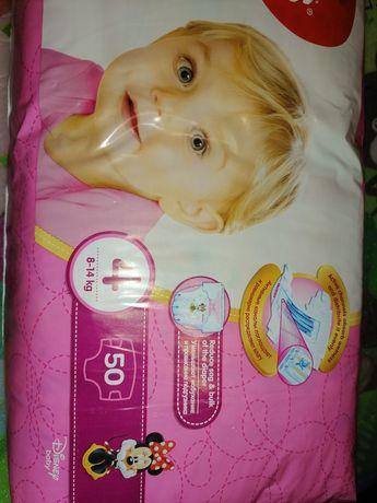 Подгузники для девочки Huggies ultra comfort 4 for girl 50 шт