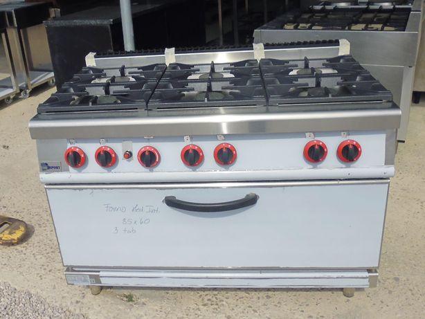 Fogão grande forno e 6 bocas