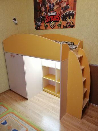 Кровать чердак. 80х160