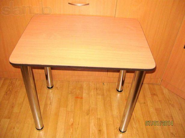 Стол кухонный, письменный с закругленными концами 600 Х 900 мм
