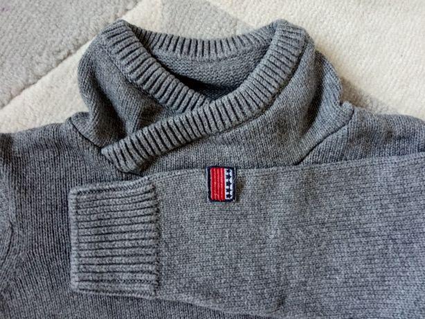 Sweterek sweter chłopiec 110