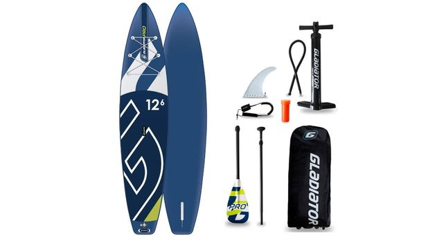 """SUP board / САП доска Gladiator PRO 12'6"""" T"""