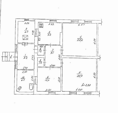 Трикімнатна квартира в м. Полтава, вул. Кременчуцька 92. as715175