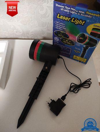 Лазерный луч проектор гирлянда