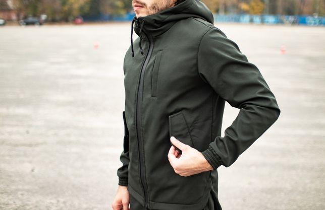 Куртка мужская Soft Shell | ветровка спортивная осенняя демисезонная