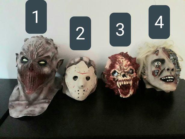 Para venda 4 máscaras carnaval - Halloween