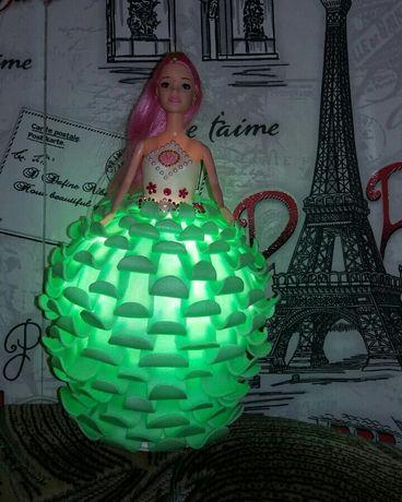 Кукла светильник