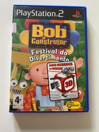 Jogo para PlayStation 2 Bob o Construtor
