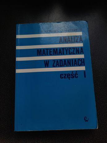 Analiza matematyczna w zadaniach część 1 oraz 2 Krysicki Włodarski