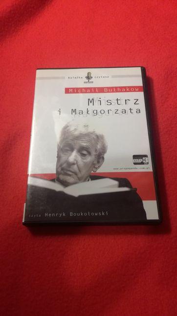 """Audiobook na płycie CD """"Mistrz i Małgorzata"""""""