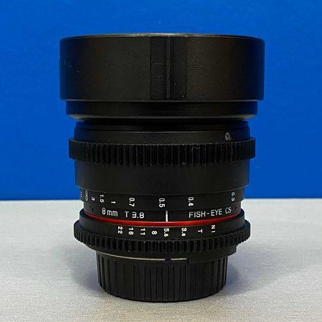 Samyang 8mm T3.8 Fish-Eye CS (Nikon)