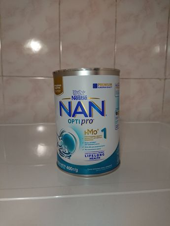 Дитяча суміш початкова молочна суха Nestle NAN 1 Optipro з олігосахари