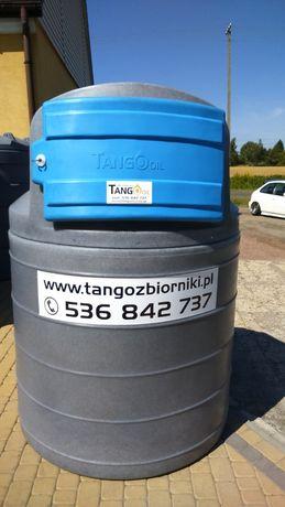Zbiornik 1500 l dwupłaszczowy Tango Oil - PRODUCENT