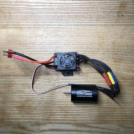 Комплект мотор и регулятор БК 3900 Kv (traxxas / axial / tamiya)