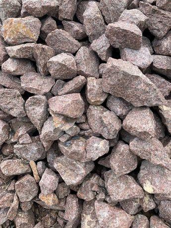 Камінь бутовий фракції 100-300 мм (сірий, червоний)