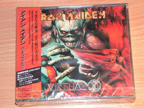 Iron Maiden - The Final Frontier TOCP-66967 OBI Japan Sealed