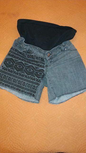 Ciążowe szorty jeansowe rozm M mamalicious