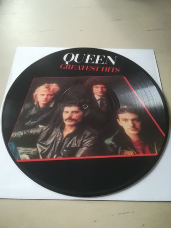 Queen Picture Vinyl Greatest Hits EX/NM Heavy