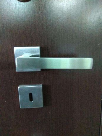Puxador inox porta interior