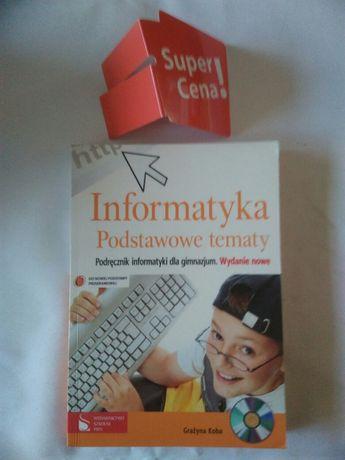 """książka """"informatyka podstawowe tematy"""" Grażyna Koba CD"""
