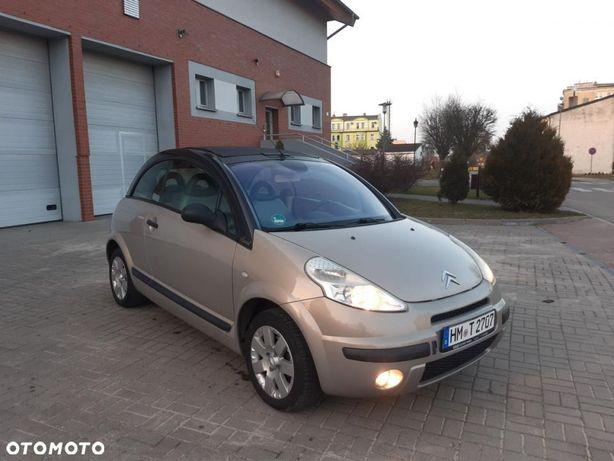Citroën C3 Pluriel 06/2003, 1.4 benzyna 74KM, 154Tkm, manual, climatronic, alu,