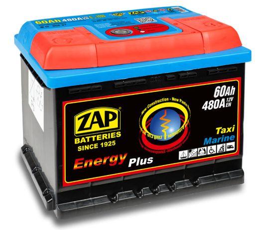 Akumulator ZAP Piastów 60Ah ENERGY Akumulatory głębokiego rozładowania