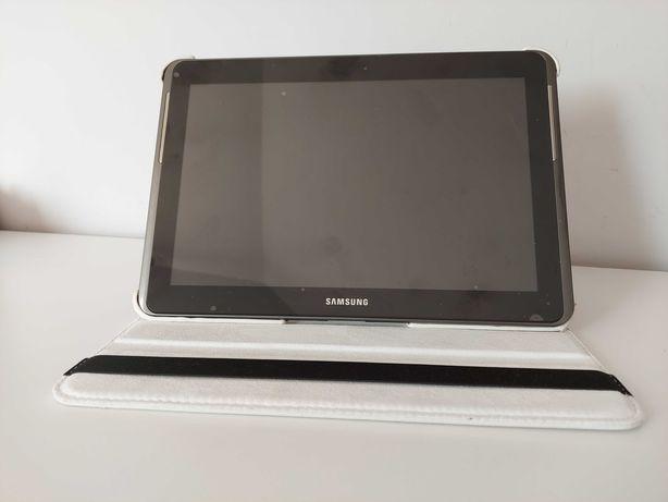 Tablet Samsung Galaxy Tab 2 10.1 srebrny bogate wyposażenie, B.DOBRY