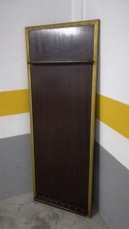 Móvel de parede para tacos de Snooker/Bilhar - Vintage