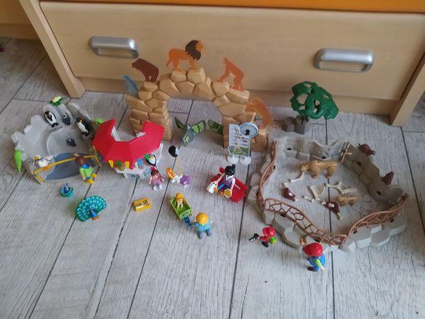 Playmobil 6634 moje duże ZOO zwierzęta lew pingwin pelikan paw zagroda