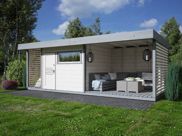 ALTANA 6x3 domek ogrodowy 3x3 taras 3x3 domek 3x3 narzędziowy MDN10