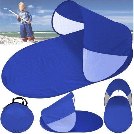 Abrigo de praia Azul novo com saco