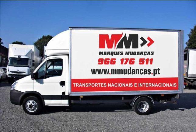 Mudanças e armazenamentos Samora Correia, Porto alto, Benavente...