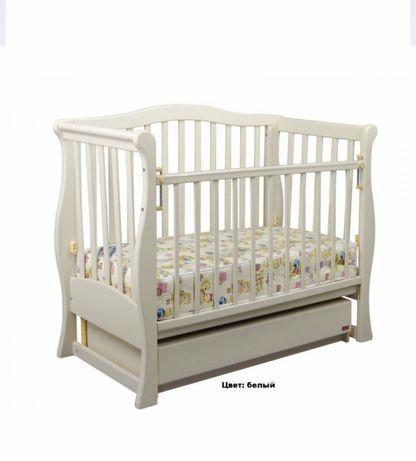 Набор Детская кроватка, тумба пеленатор, матрас