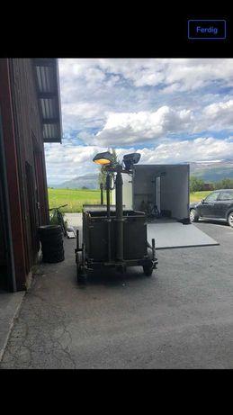 Agregat prądotwórczy z silnikiem diesla