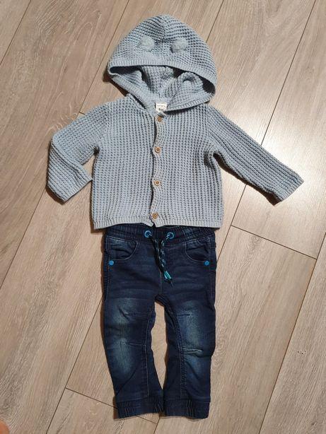 Кофточка Carters и джинсы PEP & CO