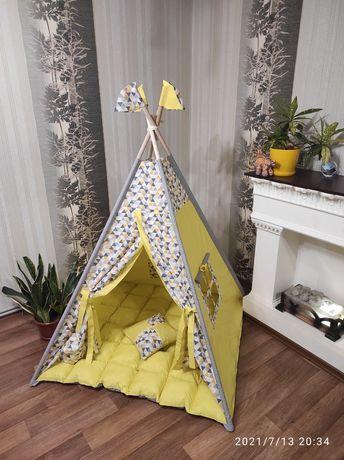 Вигвам, палатка, шалаш для ребенка