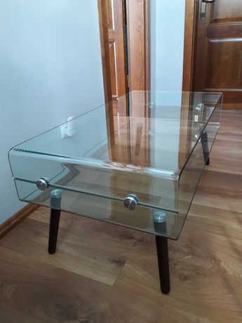 Ława szkło hartowane 110×55 cm