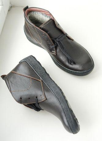 Топ! Шкіряне зимове взуття, якість гарантуємо!
