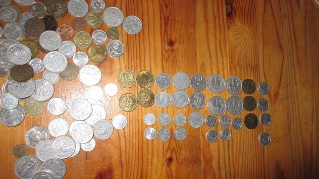 starodawne,zabytkowe monety,zloty,rubel,korony,pfennig,kopiejki,frank