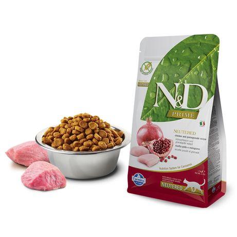 Farmina N&D Cat (Grain Free) Neutered - Frango & Romã
