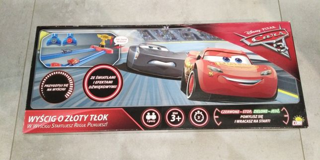 Nowa Gra Wyścig o Złoty Tłok Cars3 - okazja!!!