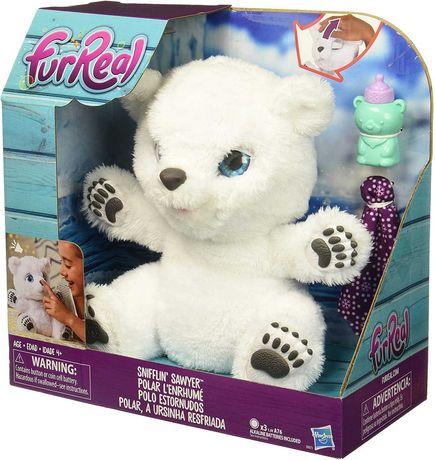 Интерактивный Полярный Медвежонок furReal Snifflin Sawyer , Hasbro