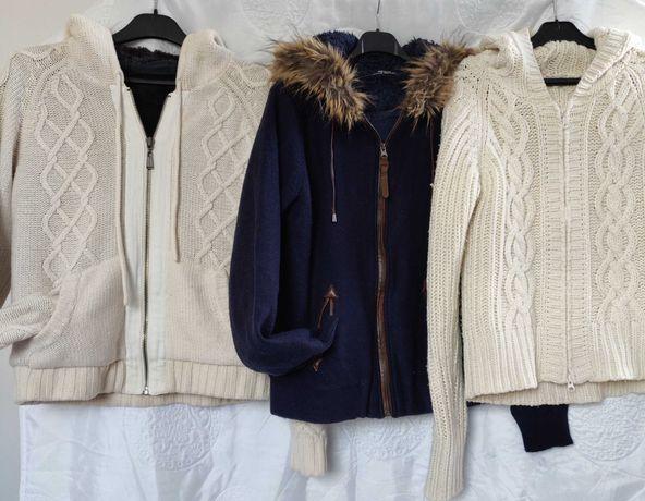 Ciepłe swetry rozmiar Xl.