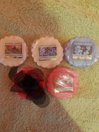 Yankee candle zestaw  4 wosków