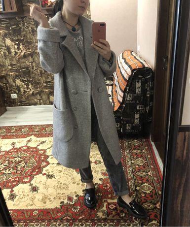 Пальто осіннє, 70% шерсть, ідеальний стан