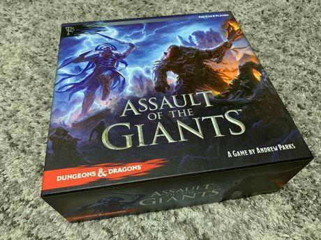 Dungeons & Dragons: Assault of the Giants! - gra planszowa - EN