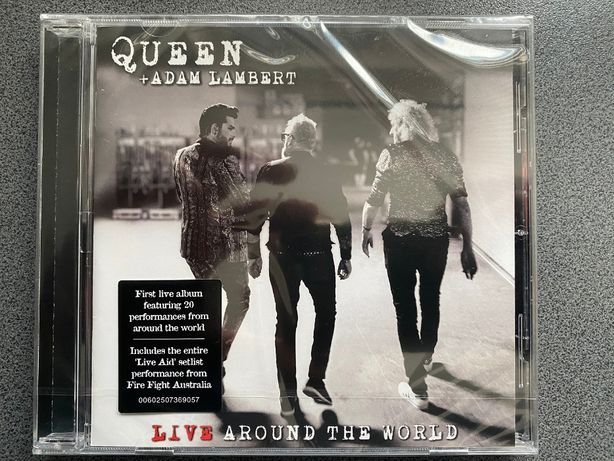 Queen+Adam Lambert-Live Around The World-(NOWA)Płyta CD Polecam!