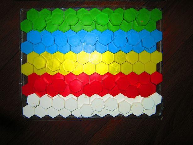 Цена за 3 вида мозайки +кубики+алфавит