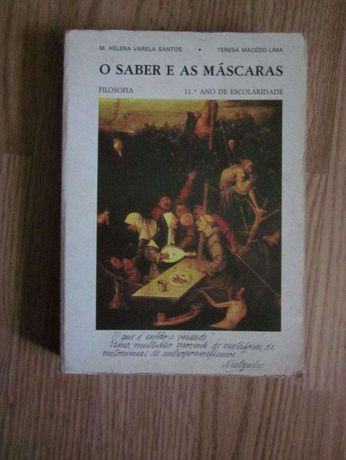 """Livro """"O Saber e as máscaras"""" - 11º Ano Filosofia"""